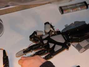 InMoov手掌垫+Arduino FSR 代码 3D模型