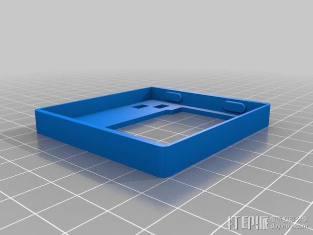 KK2.1 开关盒为 3D模型  图2