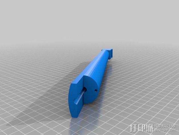 1/2规模的电提琴 3D模型  图3