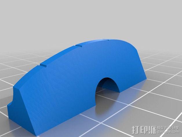 1/2规模的电提琴 3D模型  图4