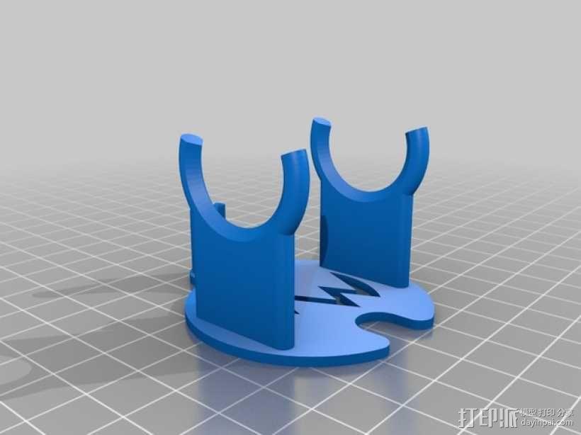 焊锡机 3D模型  图2