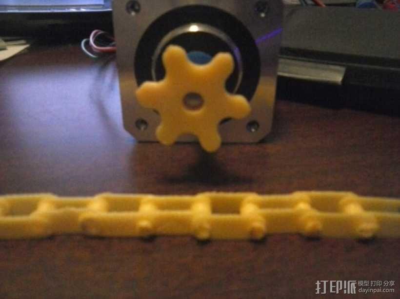 链轮和链条 3D模型  图9