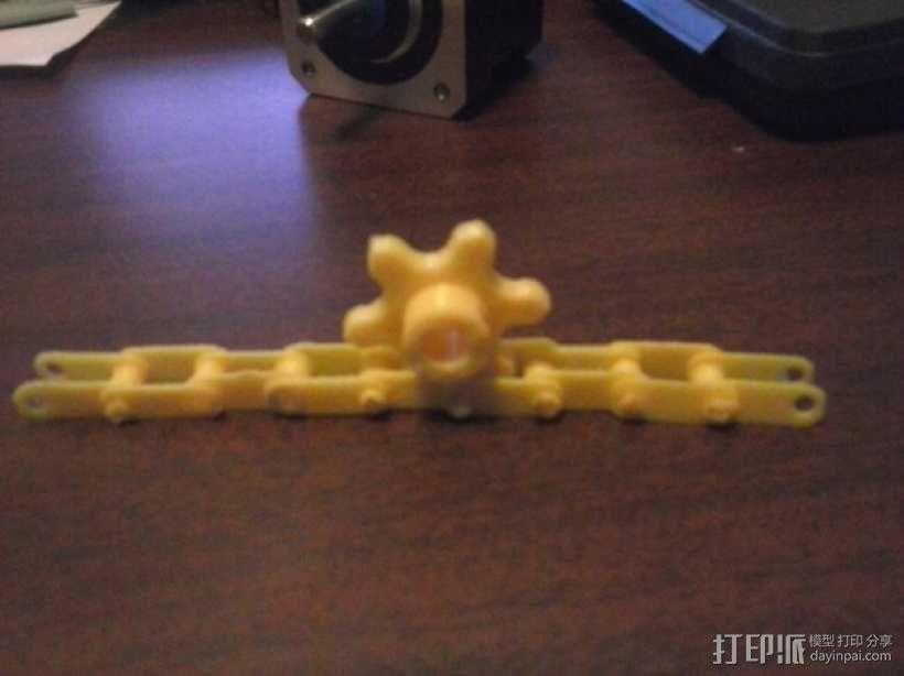 链轮和链条 3D模型  图8