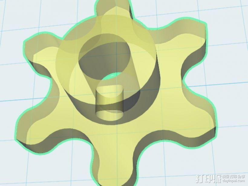 链轮和链条 3D模型  图12