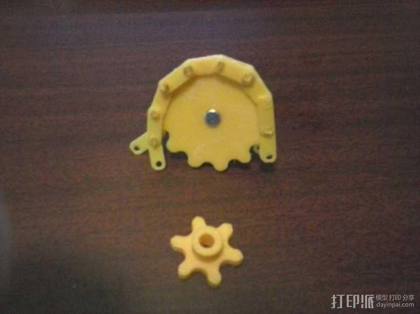 链轮和链条 3D模型  图10