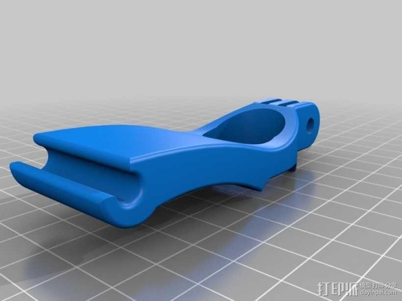 DJI  Phantom 控制器固定槽 3D模型  图3