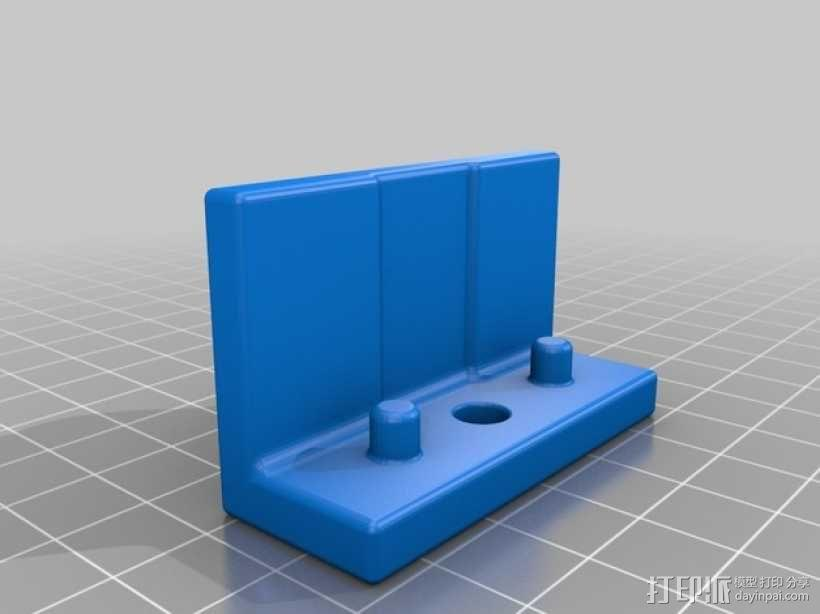 DJI  Phantom 控制器固定槽 3D模型  图2