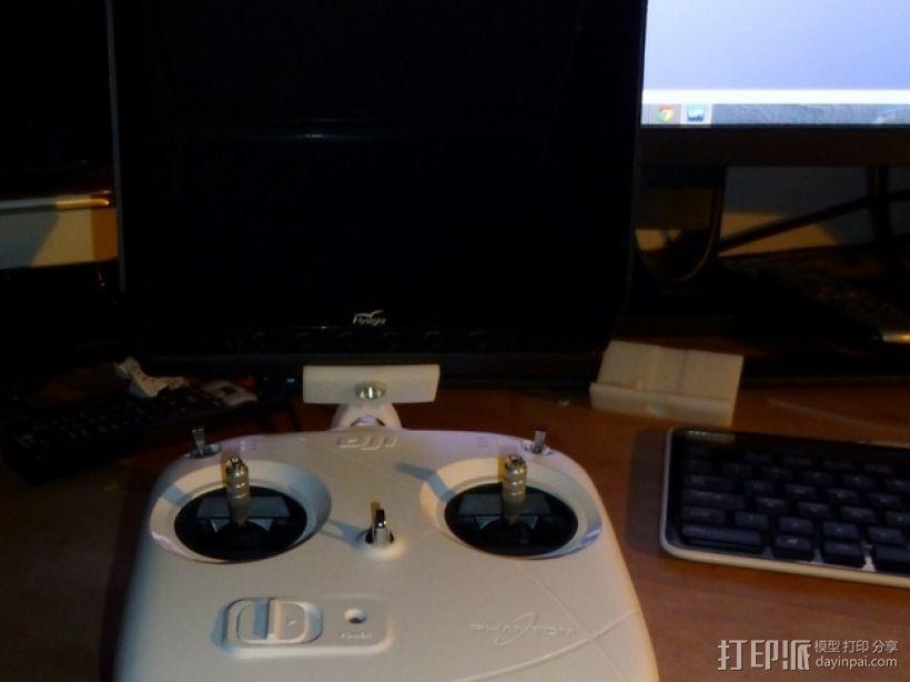 DJI  Phantom 控制器固定槽 3D模型  图5