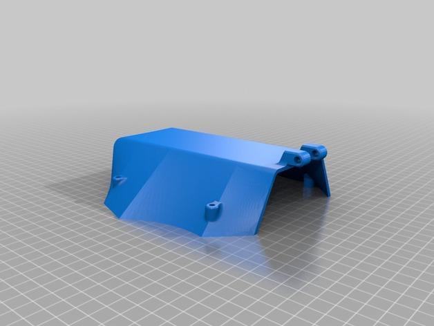 Delta Elite 四轴飞行器骨架 3D模型  图23