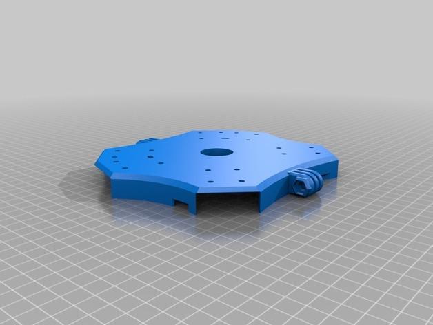 Delta Elite 四轴飞行器骨架 3D模型  图21