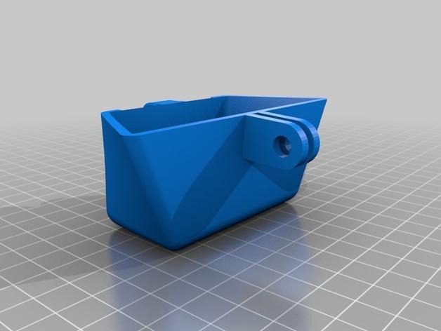 Delta Elite 四轴飞行器骨架 3D模型  图24