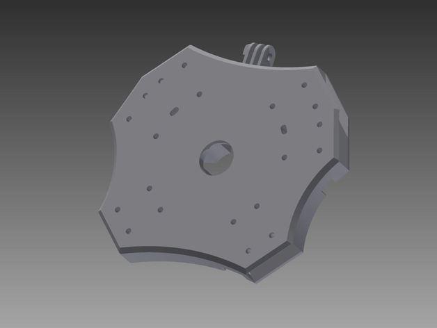 Delta Elite 四轴飞行器骨架 3D模型  图29