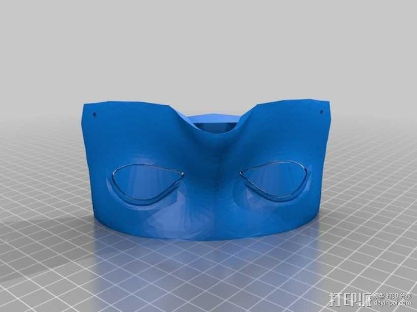 """机器人""""InMoov""""的脑袋 3D模型  图3"""