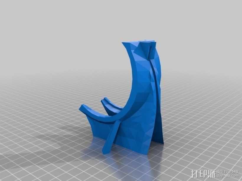 """机器人""""InMoov""""的脑袋 3D模型  图5"""