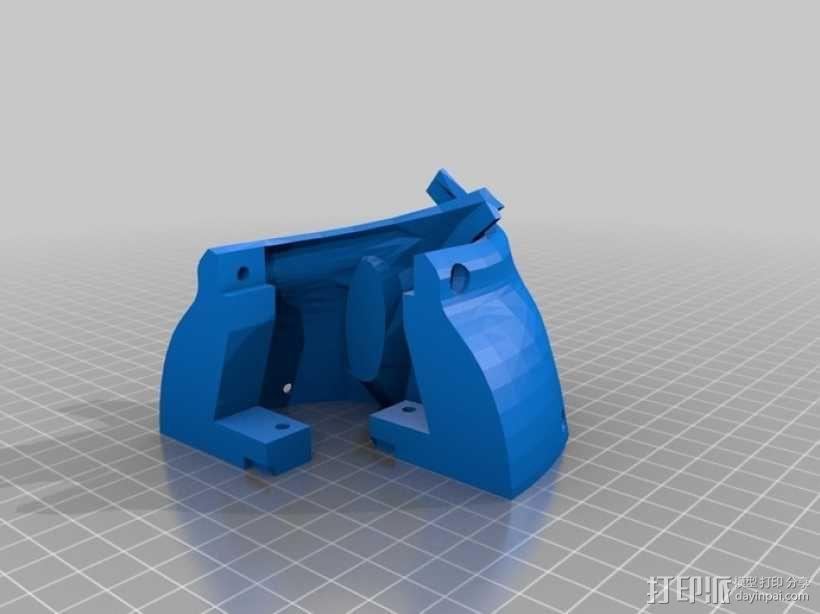 """机器人""""InMoov""""的脑袋 3D模型  图4"""