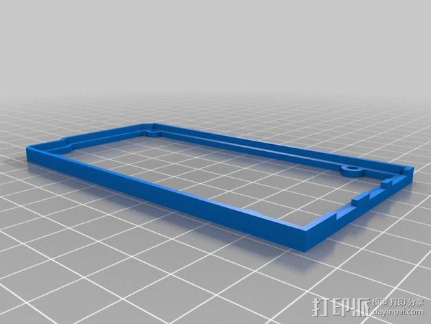 Arduino OpenSCAD固定架 3D模型  图3