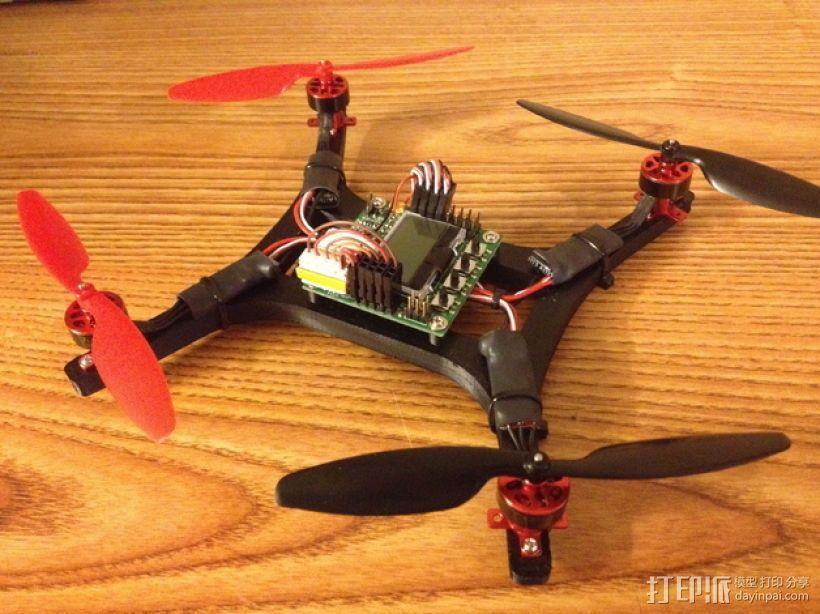 微型H四轴飞行器 3D模型  图1