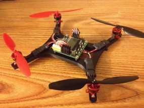 微型H四轴飞行器 3D模型