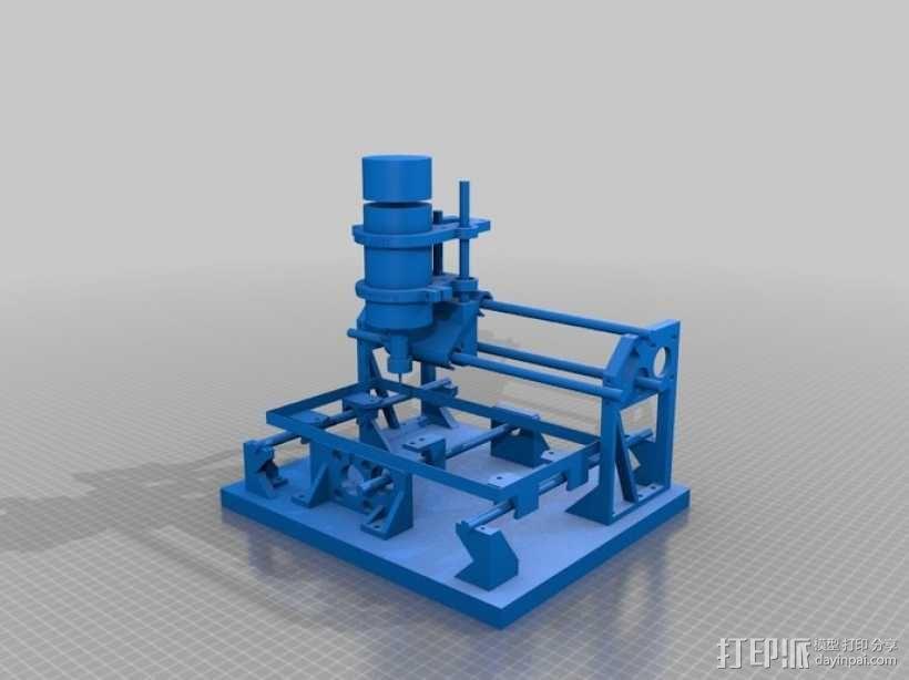 Cyclone PCB 车床 3D模型  图2