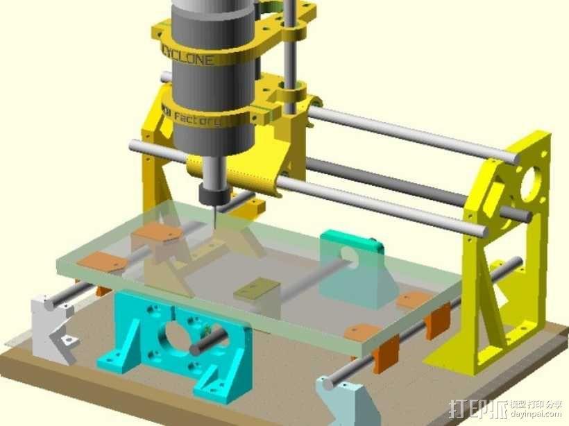 Cyclone PCB 车床 3D模型  图3