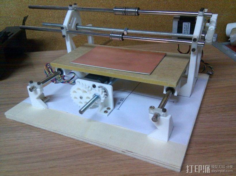 Cyclone PCB 车床 3D模型  图24