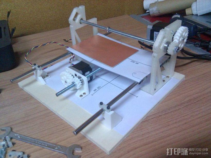 Cyclone PCB 车床 3D模型  图25