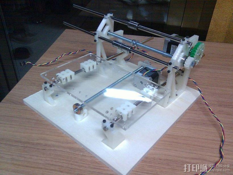 Cyclone PCB 车床 3D模型  图26