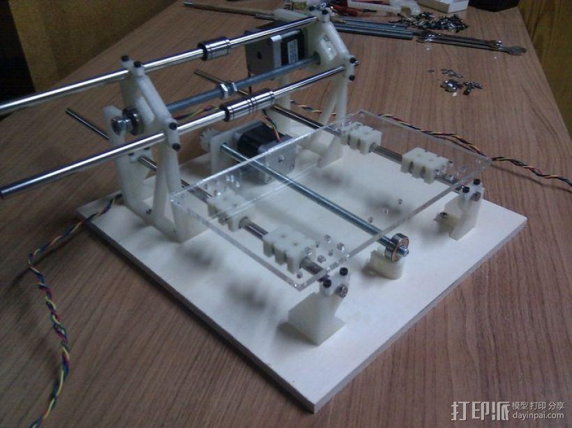 Cyclone PCB 车床 3D模型  图29