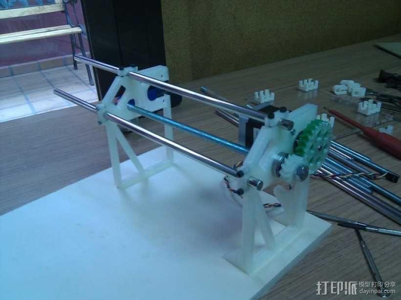 Cyclone PCB 车床 3D模型  图28