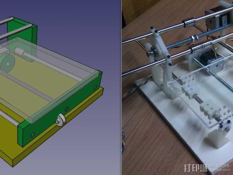 Cyclone PCB 车床 3D模型  图31