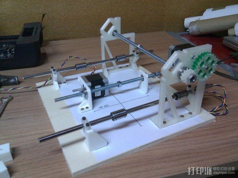 Cyclone PCB 车床 3D模型  图36