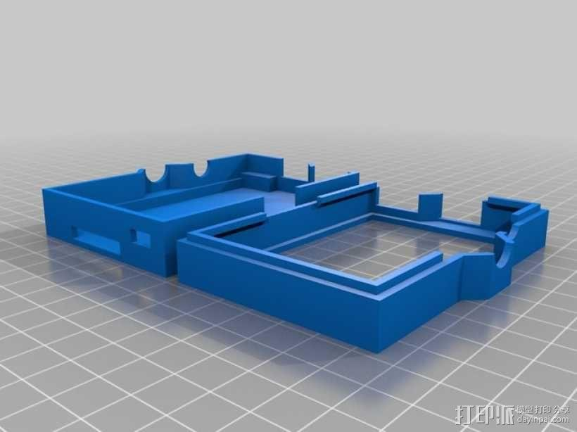 树莓派外壳 3D模型  图4