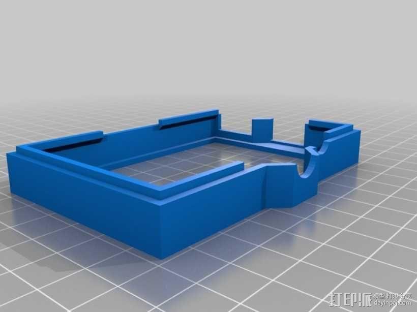 树莓派外壳 3D模型  图8