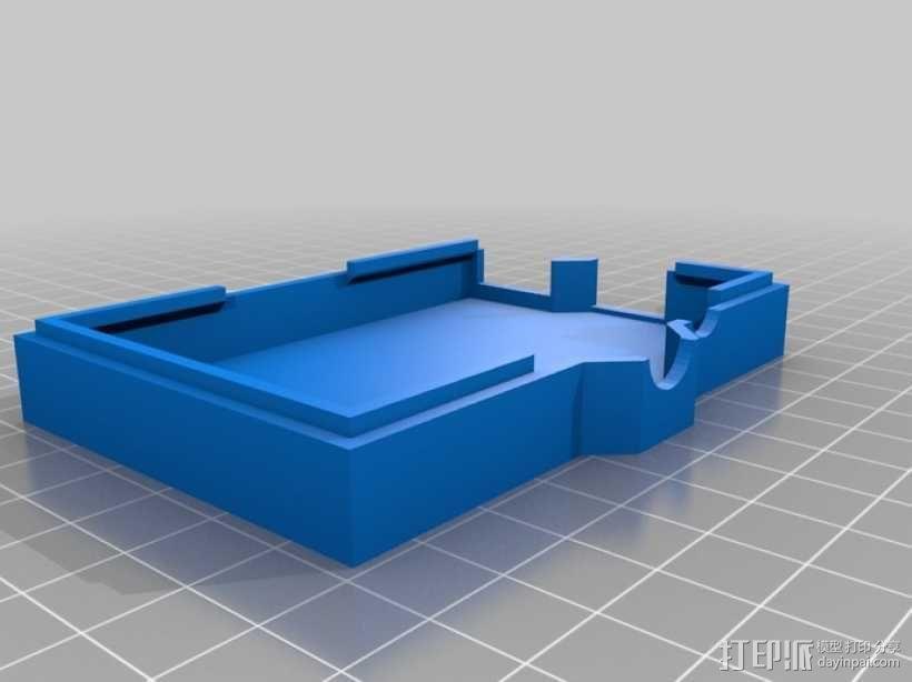 树莓派外壳 3D模型  图9