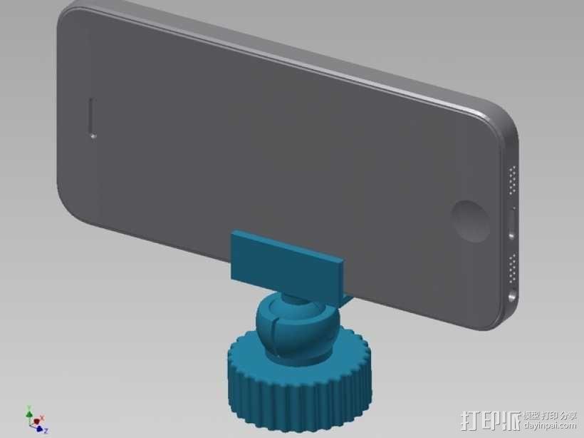 旋转iPhone固定槽 3D模型  图1