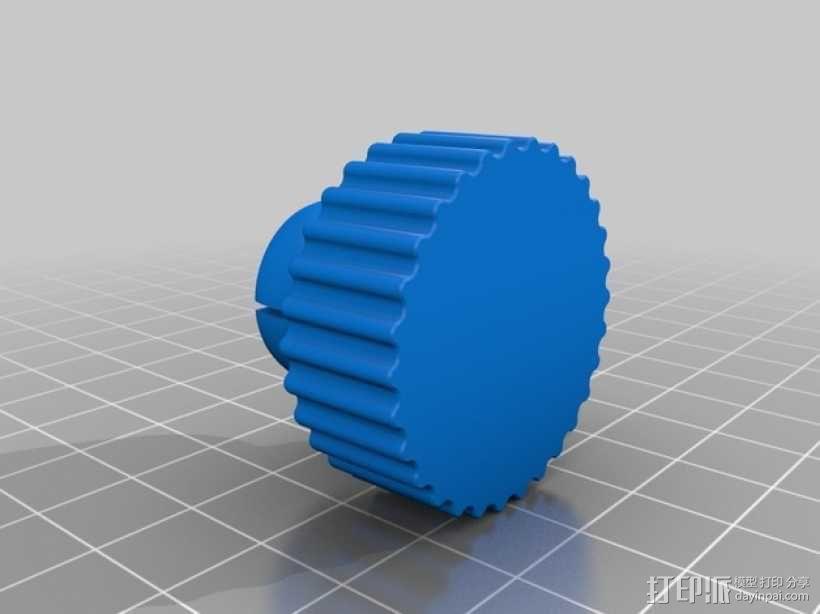 旋转iPhone固定槽 3D模型  图2