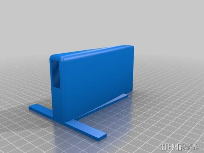 四轴飞行器组件 3D模型  图5