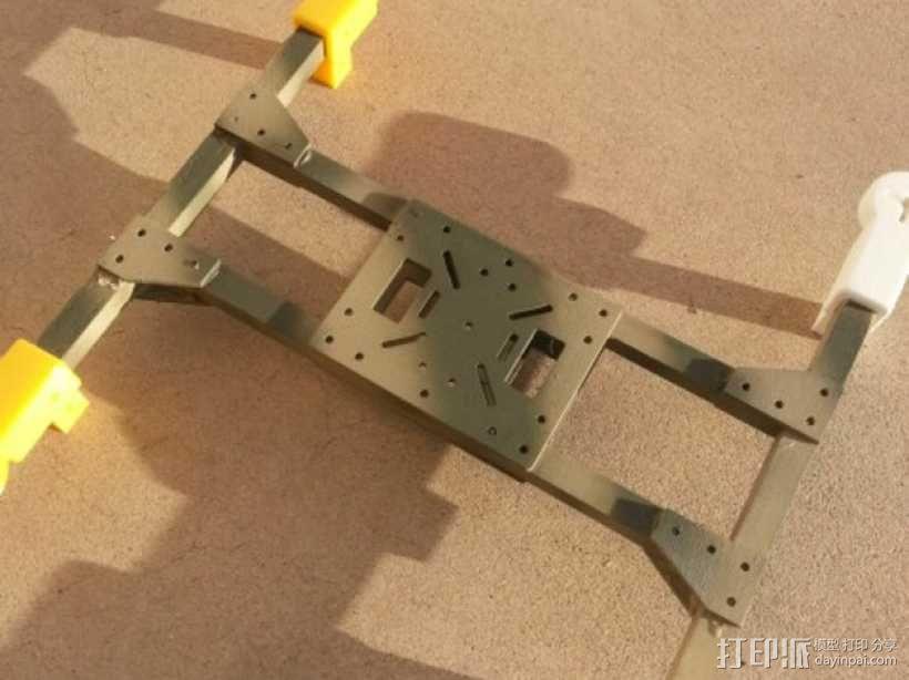 四轴飞行器组件 3D模型  图6