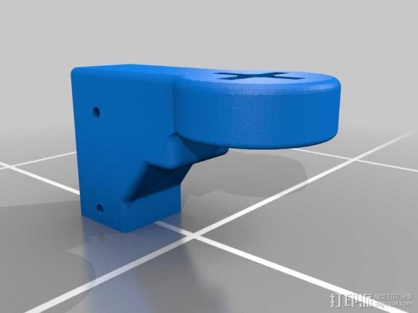 四轴飞行器组件 3D模型  图10