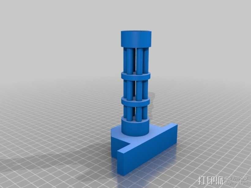 四轴飞行器组件 3D模型  图9