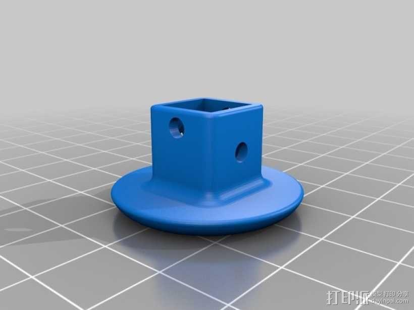 四轴飞行器组件 3D模型  图8