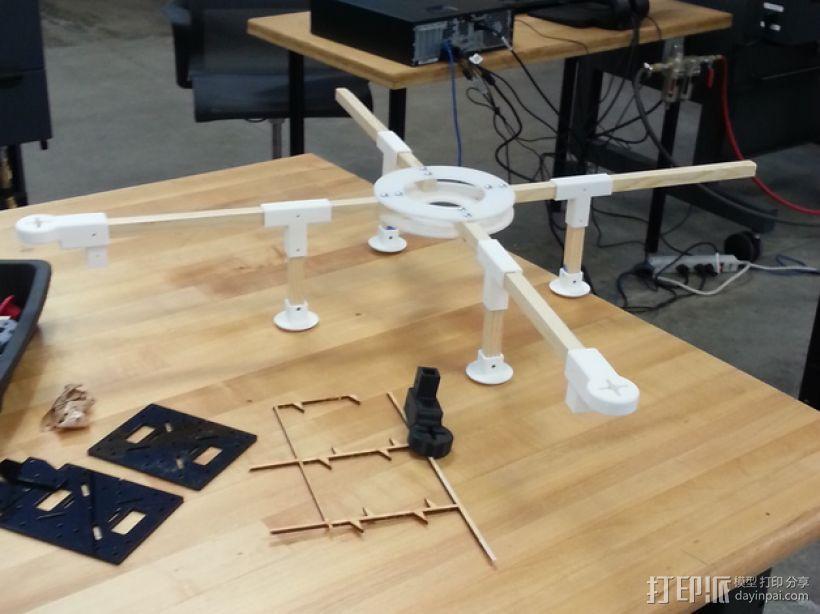 四轴飞行器组件 3D模型  图12