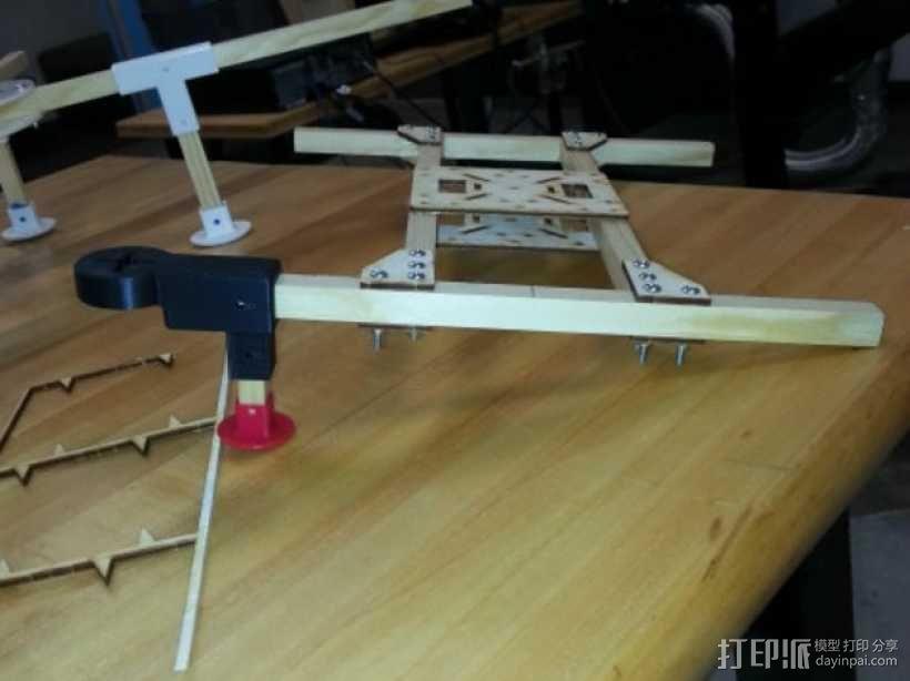 四轴飞行器组件 3D模型  图13