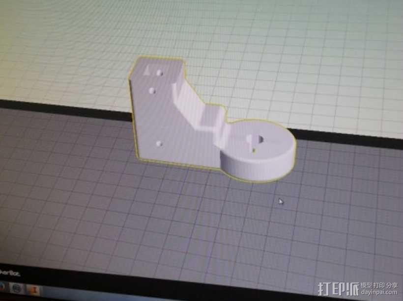 四轴飞行器组件 3D模型  图11