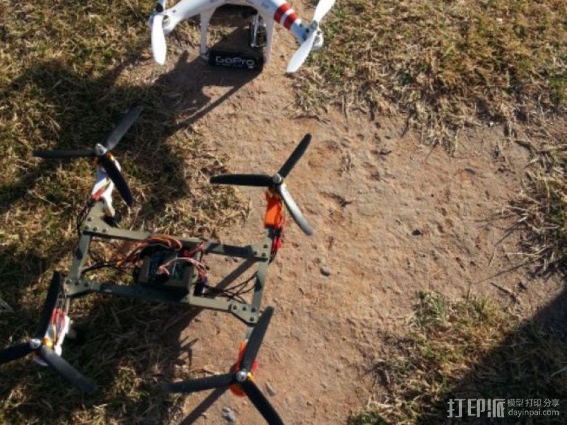 四轴飞行器组件 3D模型  图14