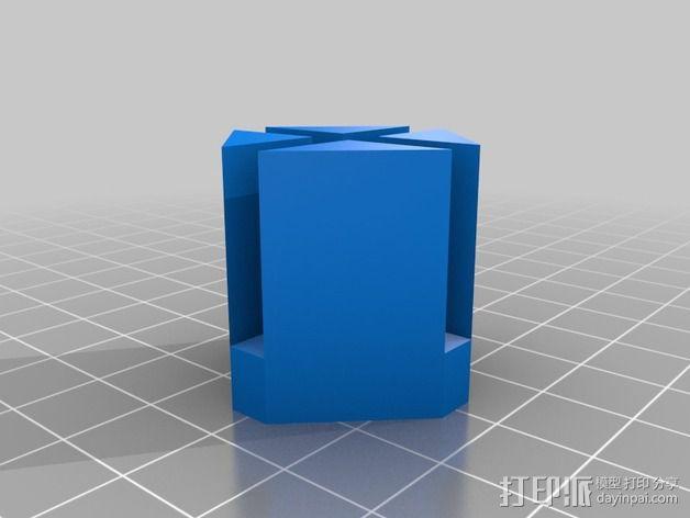 """PARROT 旋转蜘蛛""展示台 3D模型  图3"