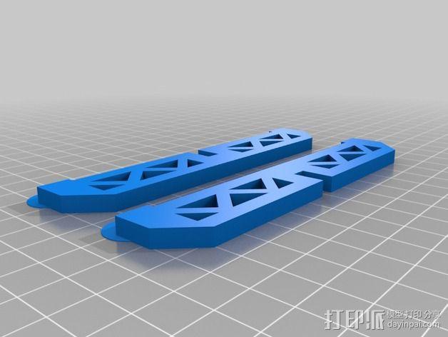 """PARROT 旋转蜘蛛""展示台 3D模型  图4"