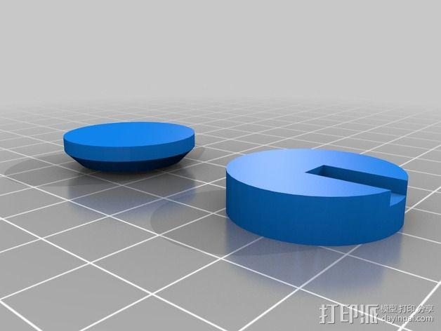 """PARROT 旋转蜘蛛""展示台 3D模型  图5"