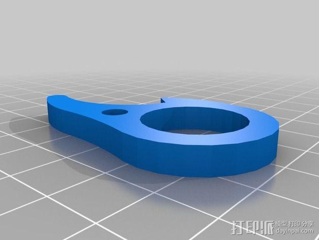 绳索释放器 3D模型  图2