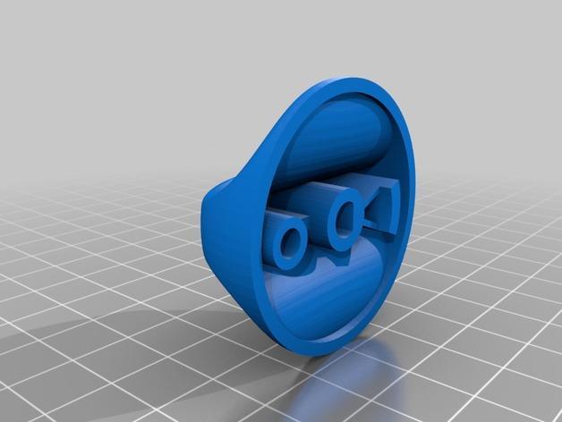 旋扭头 3D模型  图2
